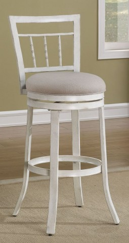 "Spindle Back 26"" Metal Frame Stool"