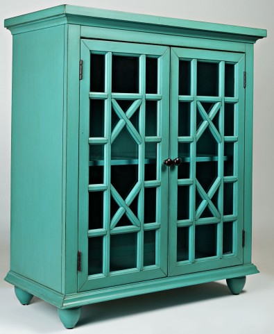 Brighton Park Turquoise Accent Chest