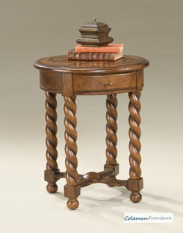 Castlewood Round Accent Table
