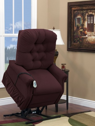 Aaron Berry Wide Petite Three Way Reclining Lift Chair