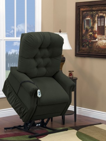 Aaron Hunter Wide Petite Three Way Reclining Lift Chair