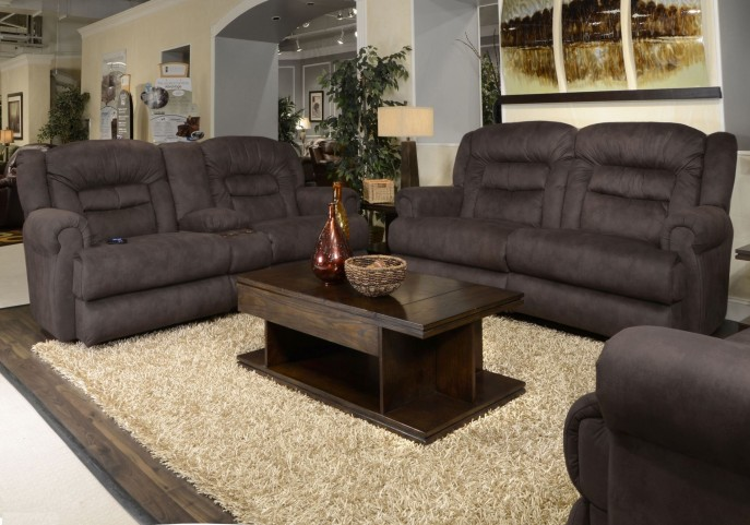 Atlas Sable Power Reclining Living Room Set