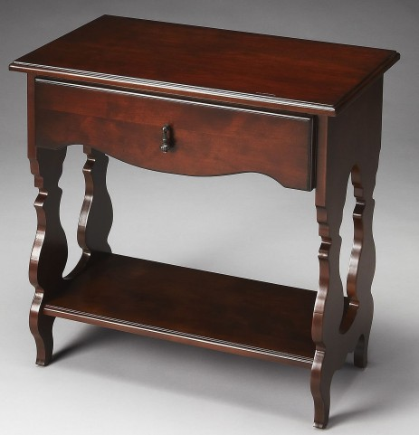 Archibald Plantation Cherry Side Table