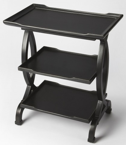 Kimiko Black Licorice Side Table