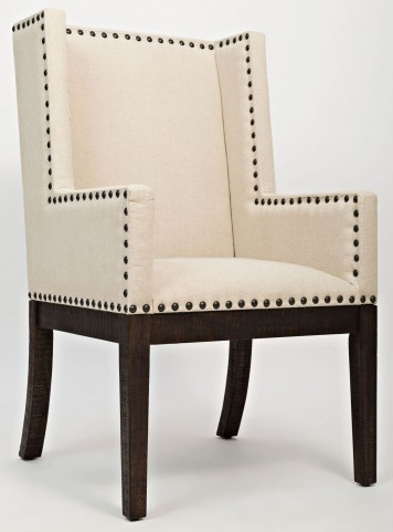 Pacific Heights Chestnut Upholstered Side Chair