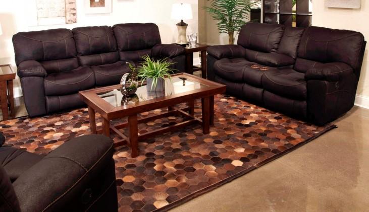 Terrance Black Reclining Living Room Set