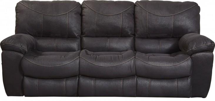 Terrance Black Power Reclining Sofa