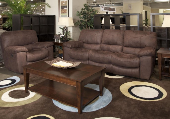 Terrance Chocolate Power Reclining Living Room Set