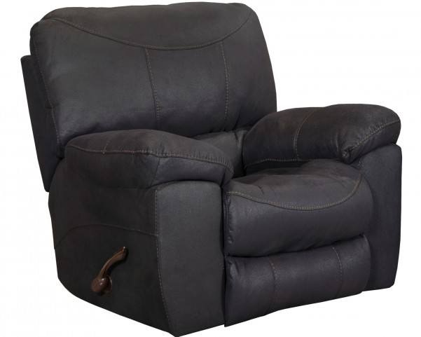 Terrance Black Power Rocker Recliner