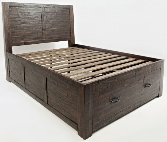Jackson Lodge Subtle Full Storage Bed