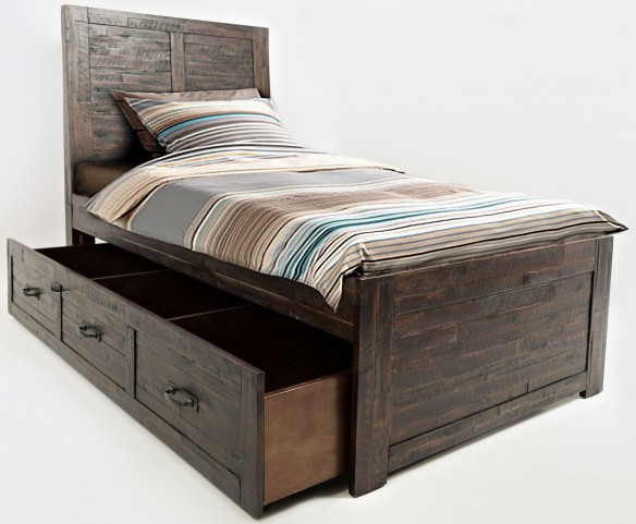 Jackson Lodge Subtle Twin Trundle Bed
