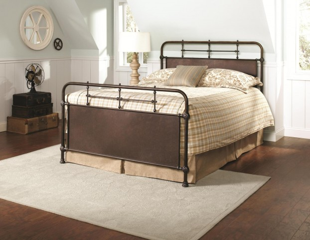 Excelsior King Panel Bed