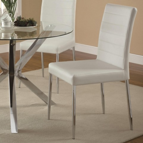 Vance White Chair Set of 4