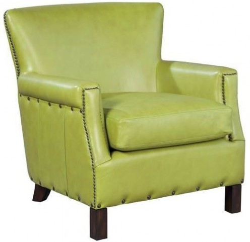Audrey Coast Apple Leather Chair