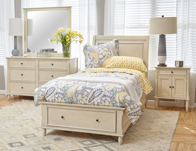 Avignon Ivory Youth Storage Bedroom Set