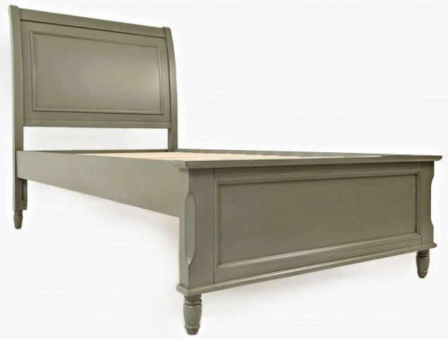 Avignon Grey Twin Panel Bed