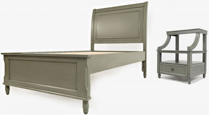 Avignon Grey Youth Panel Bedroom Set