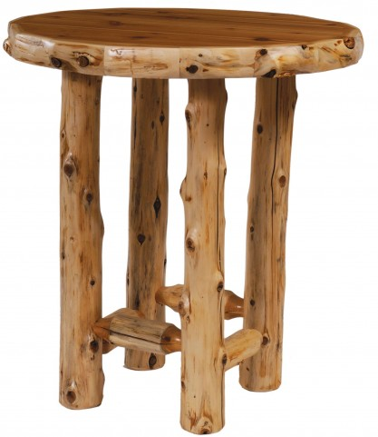 "Cedar 40"" Round Standard Pub Table"