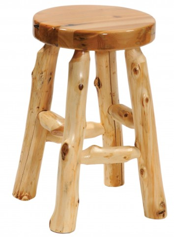 "Cedar 24"" Round Counter Height Stool"