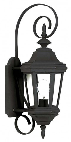 Estate Black Small Wall Lantern