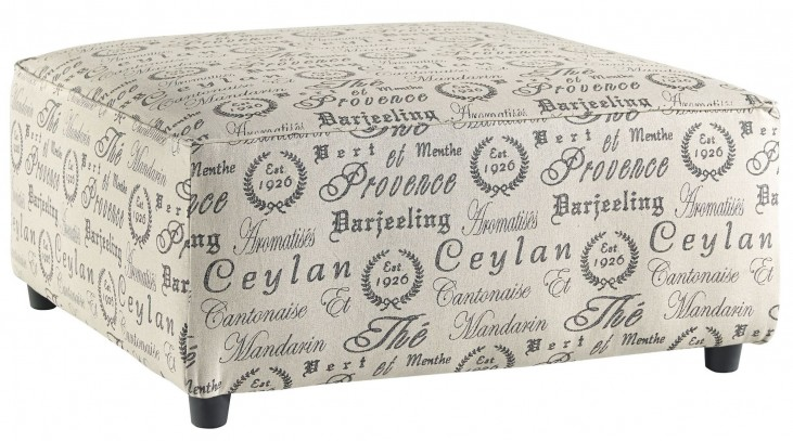 Alenya Quartz Oversized Accent Ottoman