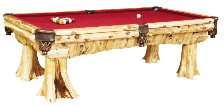 Cedar Pool Table