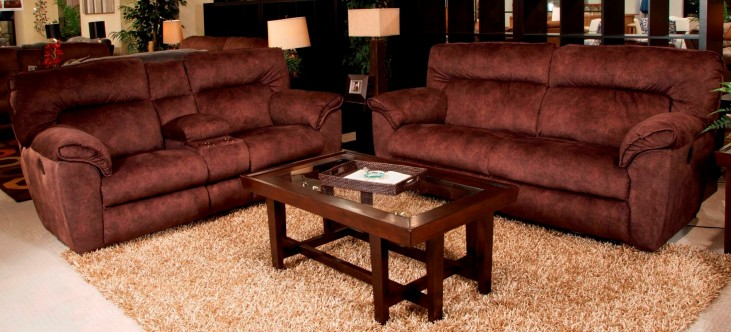 Nichols Chestnut Power Living Room Set