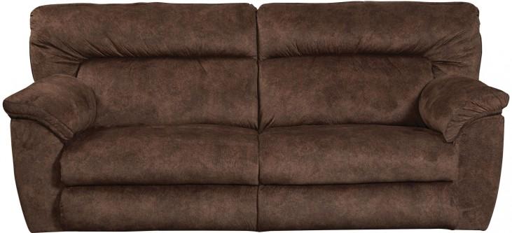 Nichols Chestnut Reclining Sofa