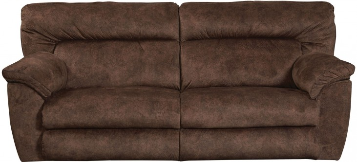Nichols Chestnut Power Reclining Sofa