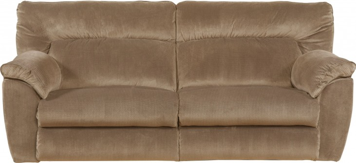 Nichols Fawn Power Reclining Sofa