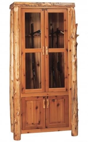 Cedar 8 Gun Cabinet