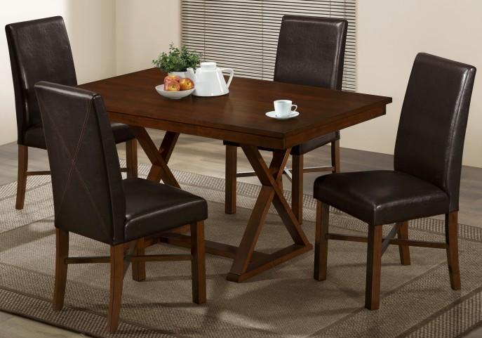 1817 Modern Oak Dining Room Set