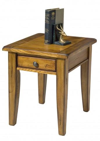 Treasures Oak End Table
