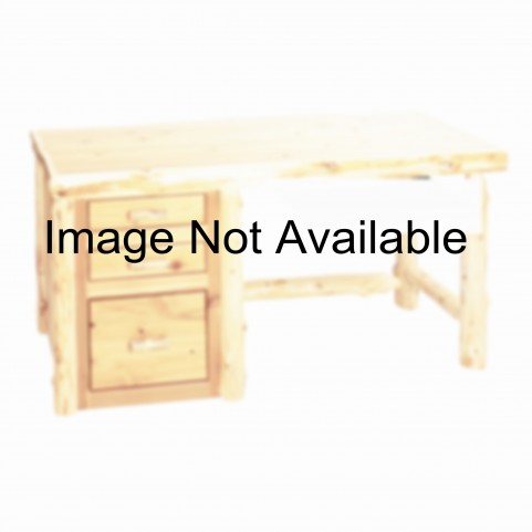 Cedar Armor Right Side File Desk Without Keyboard Slide