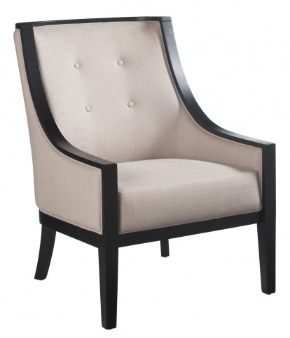 Cyrano Linen Fabric Arm Chair