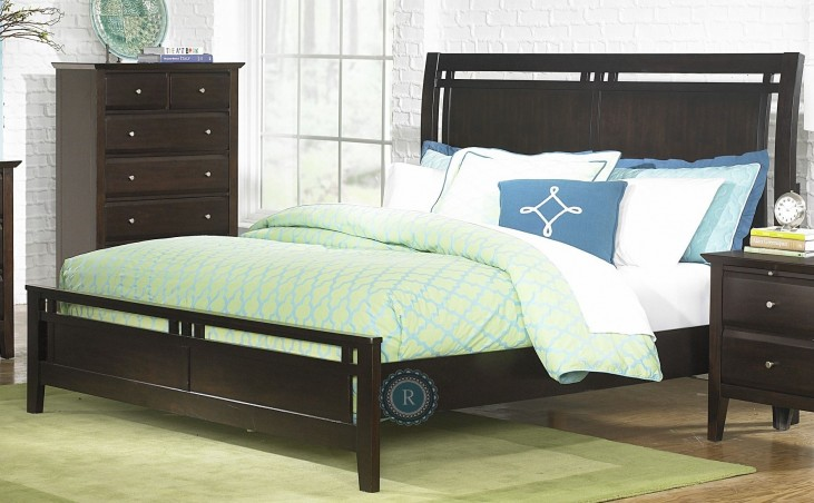 Verano King Panel Bed