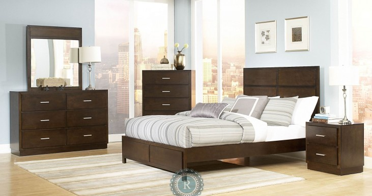 Vernada Panel Bedroom Set