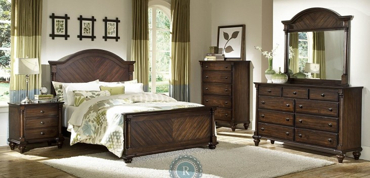 Chaplin Panel Bedroom Set