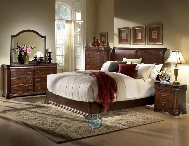 Karla Sleigh Bedroom Set
