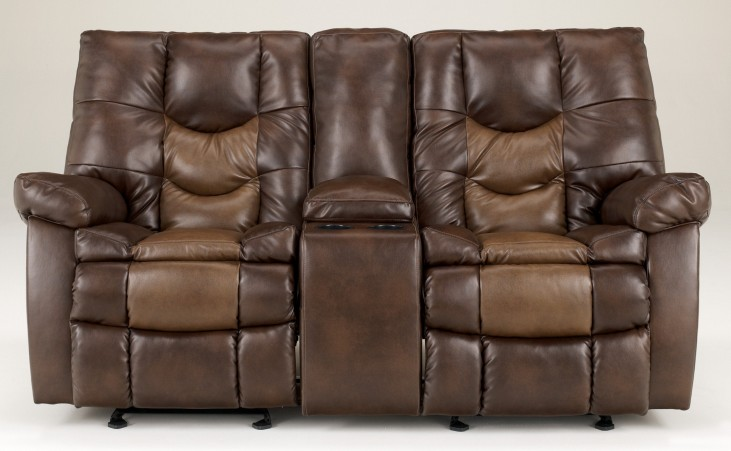 Gyro DuraBlend Sedona Glider Power Reclining Loveseat
