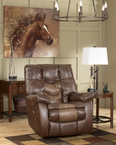 Gyro DuraBlend Sedona Power Rocker Recliner