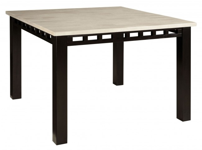 Gateway Brown and White Counter Height Table
