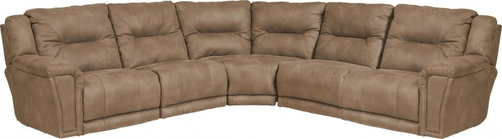 Montgomery Cement Power Reclining Sectional