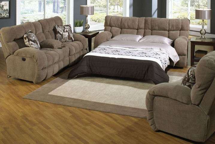 Siesta Porcini Reclining Living Room Set