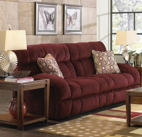 Siesta Wine Reclining Sofa