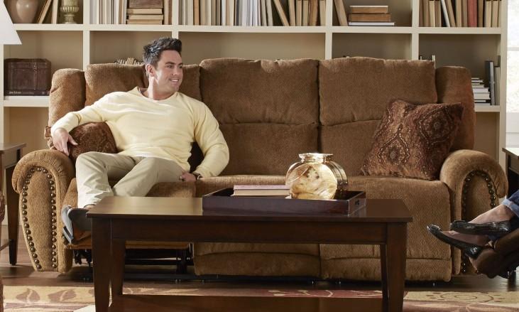 Stafford Tobacco Reclining Sofa