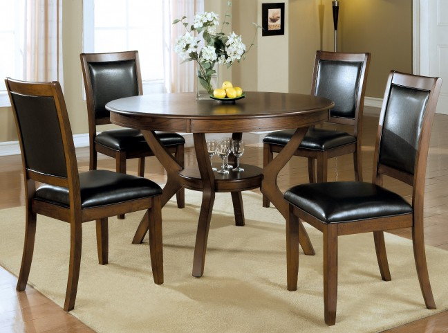1890 Dark Walnut Dining Room Set