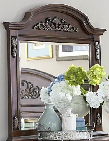 Donata Falls Warm Brown Mirror