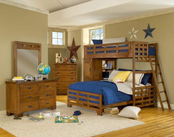 Heartland Loft Bedroom Set