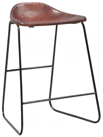 Galway Cognac Browns Counter Height Stool Set of 2